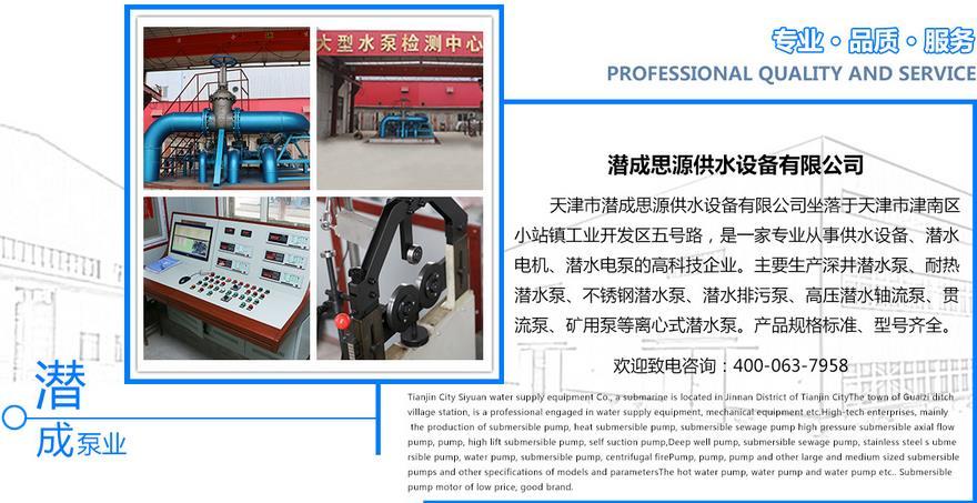 天津潜水泵厂家